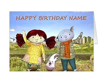 Abney And Teal Personalised Birthday Card Amazon Kitchen Home
