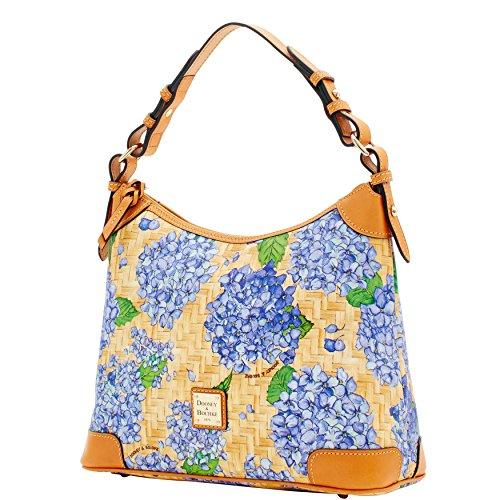 Shoulder Hydrangea Basketweave Dooney Purple Bag Hobo Bourke amp; 4vWqBR