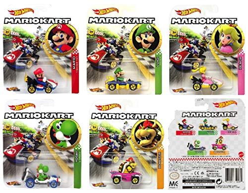 MARIO KART Hot Wheels MarioKart 1:64 Super Mario video game Diecast Vehicle 2019