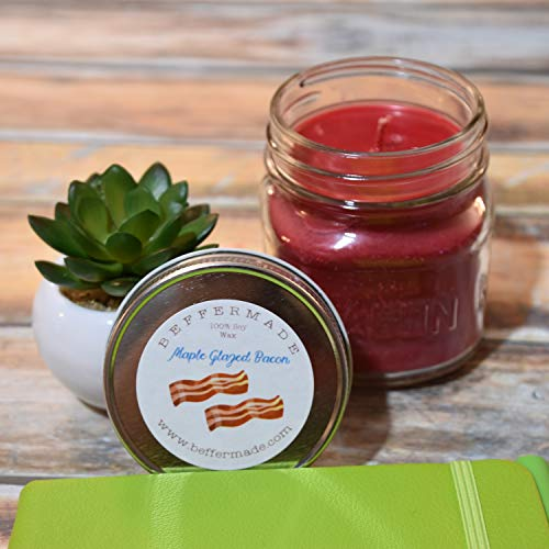 (Bacon, Maple Glazed - Scented Soy Container Candle, 8 oz)