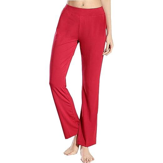WCZZ Pantalones de yoga baile de figuras Pantalones Mujeres ...
