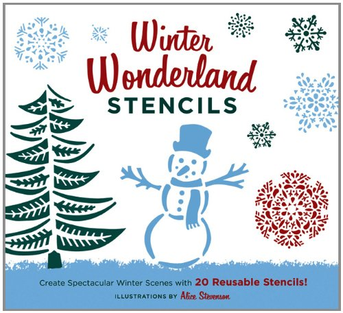 Winter Wonderland Stencils: Create Spectacular Winter Scenes with 20 Reusable Stencils!]()