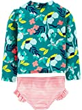Simple Joys by Carter's Girls' 2-Piece Rashguard