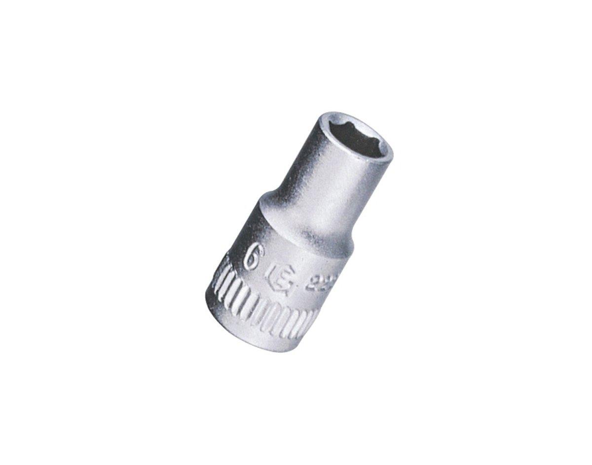Genius Tools 222504 1/4'' Dr. 4mm Hand Socket