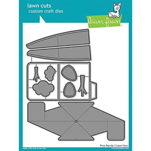 Wide Pivot - Lawn Fawn Lawn Cuts Custom Craft Die LF1611 Pivot Pop-Up