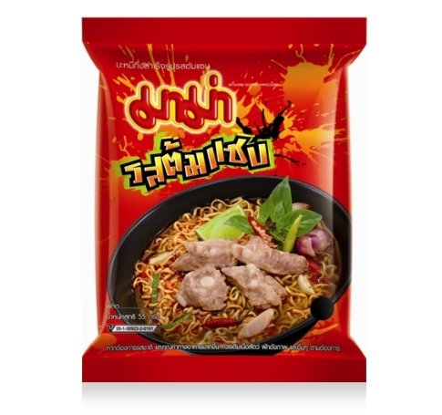 Price comparison product image Mama, Instant Noodles, Tom Saab Flavour, net weight 55 g (Pack of 6 pieces) / Beststore by KK8