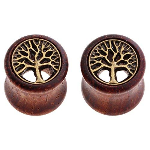 00g wooden plugs - 1