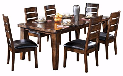 picture of Ashley Furniture Signature Design » Larchmont Dining Room Table » Old World
