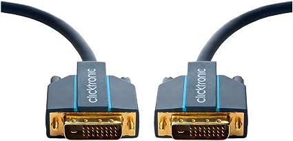 Clicktronic Casual Dvi D Verbindungskabel Dual Link Elektronik