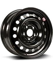 RTX, Steel Rim, New Aftermarket Wheel, 16X6.5, 5X114.3, 66.1, 45, black finish X46566