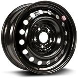 RTX, Steel Rim, New Aftermarket Wheel, 16X6.5, 5X114.3, 66.1, 40, black finish X46566