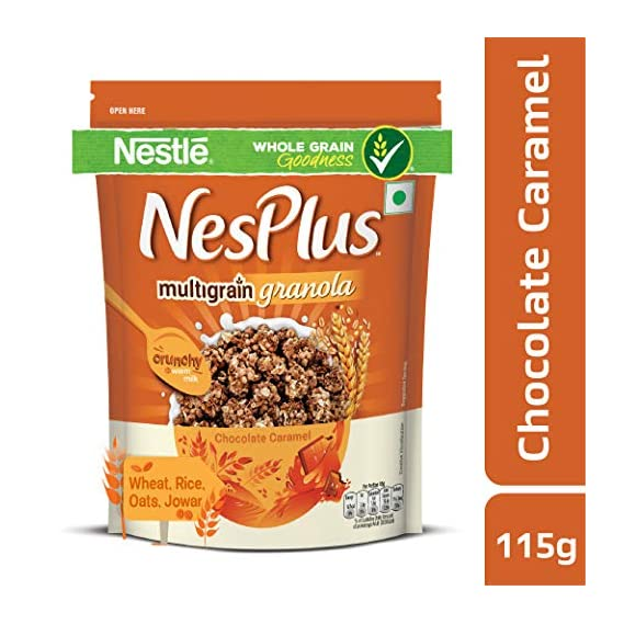 Nestle NesPlus Breakfast Cereal, Multigrain Granola