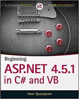 Beginning ASP.NET 4.5.1: In C# And VB (Wrox Programmer To Programmer) Mobi Download Book