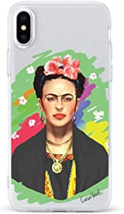 iPhone SE Case by Case Yard Fit for iPhone SE 4.7-Inch [ 2020 Release ] Shock-Absorption iPhone SE Case Clear iPhone SE Clear iPhone SE Case Frida
