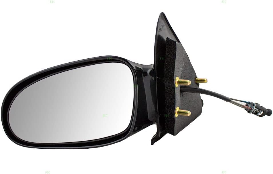 Aftermarket Replacement Driver and Passenger Manual Side View Mirrors Compatible with 96-02 S Series Sedan Wagon