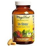 MegaFood - Un-Stress, Supports Calm, Immunity, and Mood Balance, 90 Tablets