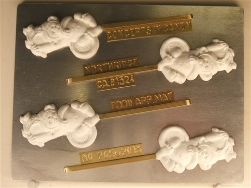 Cute Monkey In A Tree AO265 All Occasion Chocolate Candy Mold