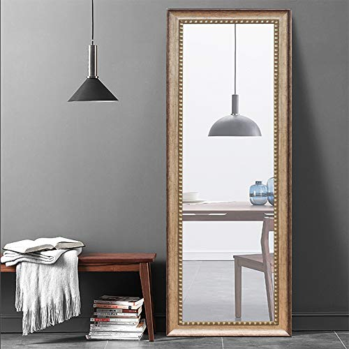 Leafmirror Full Length Mirror Dressing Leaning Floor Mirrors Large Wall-Mounted Wall Mirrors Makeup Mirror Home Decor 63