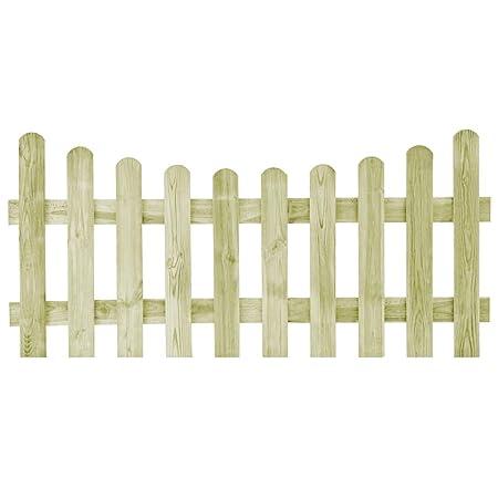 Recinzioni Per Giardino In Legno.Tidyard Cancello Da Giardino Legno Di Pino Impregnato Recinzione