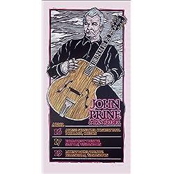 John Prine Northwest Tour 2010 Poster Original Signed Silkscreen