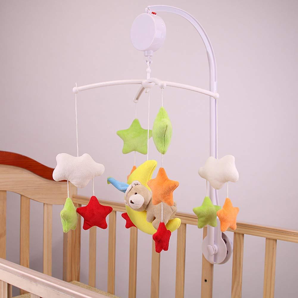 Giostrina, baby Music comodino Bell Cartoon presepe Hanging Bell, carillon giocattoli per bambini, passeggino giocattolo appeso Chenyu