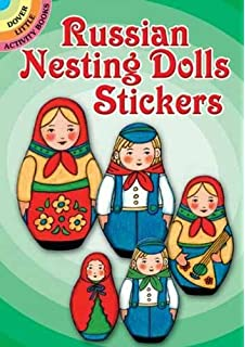 Beautiful Russian Nesting Dolls Stickers (Dover Little Activity Books Stickers)