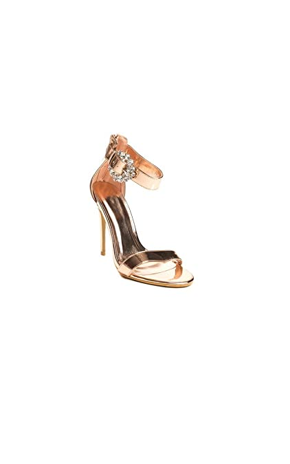 8d8d6fa1b816 Ikrush Womens Lolita Barely There Platform Heels  Amazon.co.uk ...