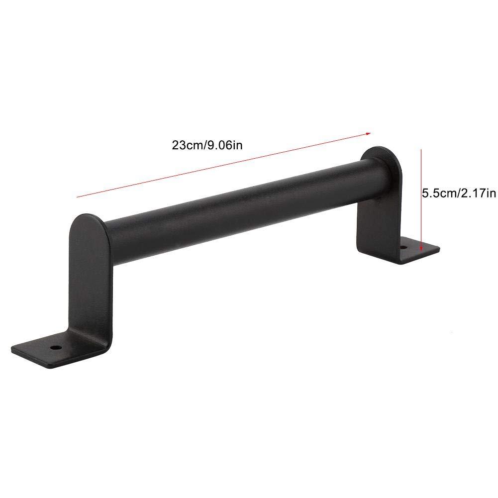 Tirador Color Negro para Armario Puerta corredera Puerta Tirador de Puerta de Acero al Carbono EBTOOLS Resistente caj/ón manija de Granero