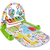 [Patrocinado] Fisher-Price Deluxe Kick & Play Piano Gym, Multicolor