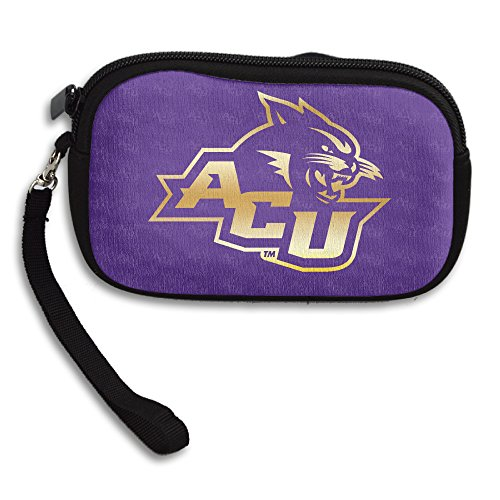 Abilene Christian University Wildcats Acu Gold Style Purse & Key Wristlet (Kentucky Wildcats Nylon Backpack)