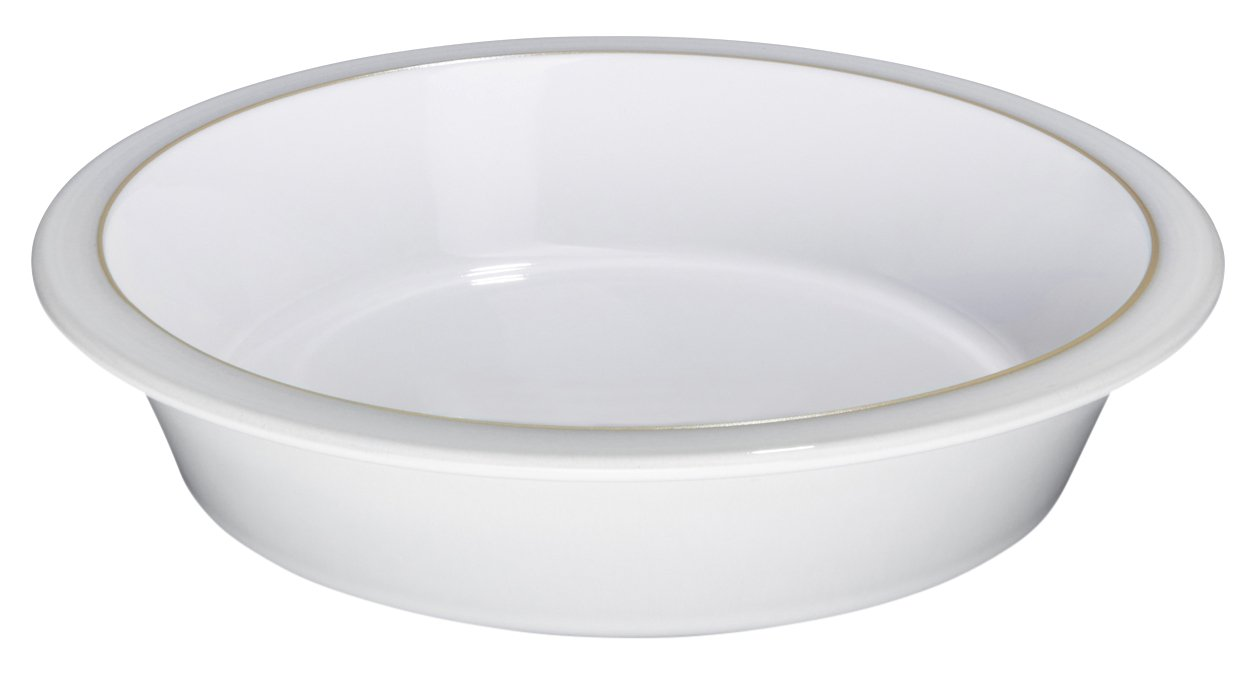 Denby Natural Canvas Round Pie Dish by Denby
