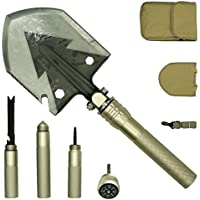 PEYOND Multi-function Folding Shovel for...