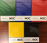 NOC Original 5 Deck Set Playing Cards Poker Size USPCC HOPC Custom Limited