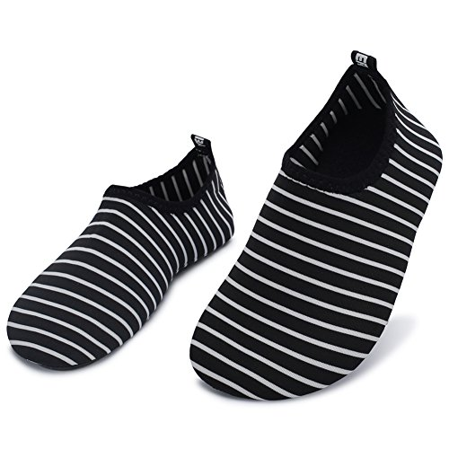 Men Pool Dry Sports Socks Stripe Quick for Shoes Women Slim Barefoot Surf Barerun Swim for Yoga Water Beach Aqua HqAafP