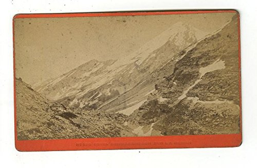 Swiss Alps - Original Carte-de-visite Photograph - Late 19th Century
