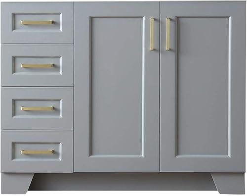 ARIEL 42″ Inch Bathroom Vanity Cabinet Base