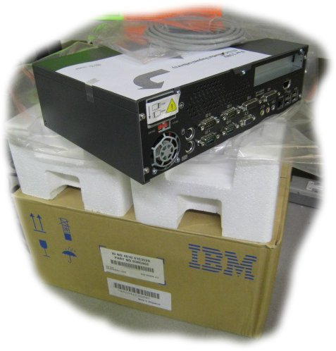 IBM Surepos 300 Series Model 481032H Epos System Comprising Base Desktop Unit Customer Display Unit Cash Drawer Cash Drawer Insert And Set Of Cables