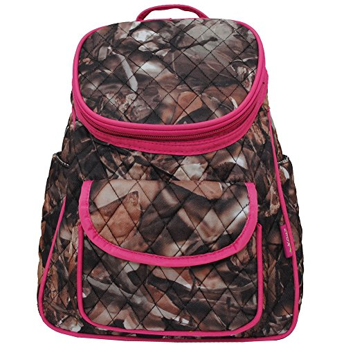 - BnB Natural Camo (Hot Pink) NGIL Quilted Mini Backpack