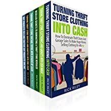 eBay Strategies And Thrifting Secrets Box Set (6 in 1): Learn How To Make A Living From Home Selling On eBay (eBay Selling Made Easy, List Of Things To Sell On eBay, eBay Mastery, Thrifting)