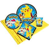 Pokemon Party Supplies - Party Pack for 24 Guests