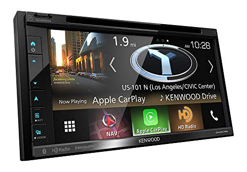 Kenwood 019048221704 DNX575S in-Dash Multimedia Receiver with Navigation from Kenwood