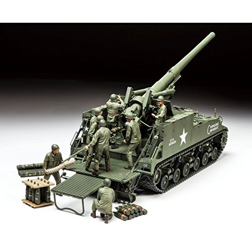 Tamiya America, Inc 1 35 U.S. Self-Propelled 155mm, used for sale  Delivered anywhere in USA