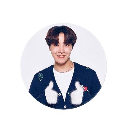 KPOP BTS Bangtan Boys Brooches JIMIN V SUGA Name Brooch Pin Clothing Hat Badge
