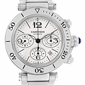 Cartier Pasha automatic-self-wind mens Watch W31089M7 (Certified Pre-owned)