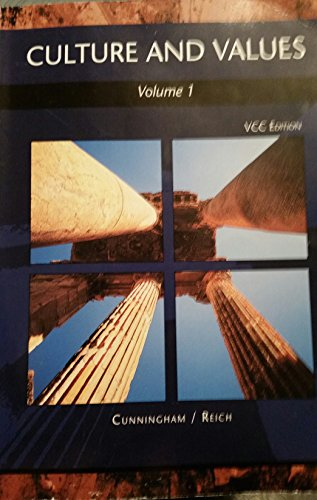 cultures-and-values-vcc-edition-volume-1