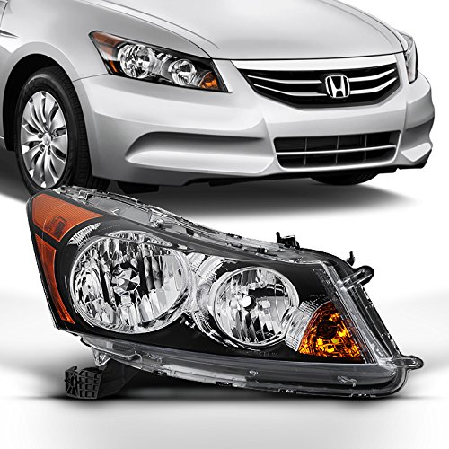 For 2008 2009 2010 2011 2012 4-Door Sedan Honda Accord Right Passenger Side Headlight Headlamp Assembly