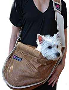 Fundle Ultimate Pet Sling LUX Series Color: Camel Size: Large