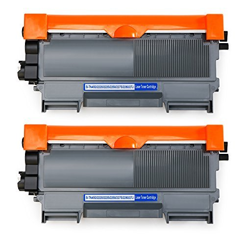 MIROO Compatible Replacement for Brother TN450 TN-450 TN420 TN-420 Toner Cartridge,Work on Brother HL-2270DW HL-2280DW HL-2230 HL-2240 HL-2240D MFC-7860DW DCP-7065DN MFC-7360N HL-2132 Laser Printer ()