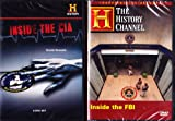 The History Channel : Inside the FBI , Inside the CIA : Federal Law Enforcement 2 Pack : 400 Minutes : 3 DVD SET