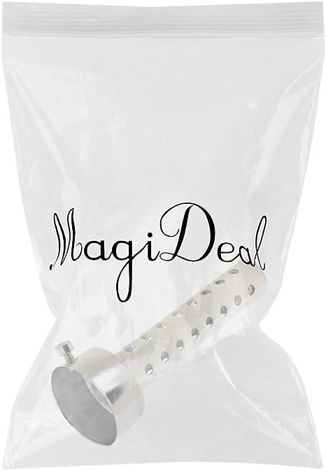 MagiDeal Universal Adjustable Motorcycle Exhaust Can Silencer Muffler Baffle 42mm 45mm 48mm 42mm